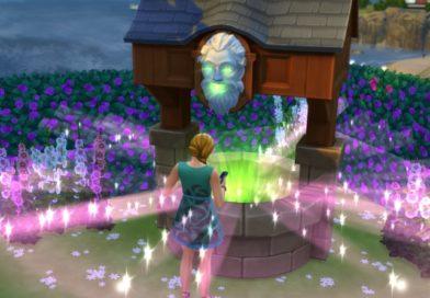 Les Sims 4 Jardin Romantique : Guide des vœux au Puits à souhaits !