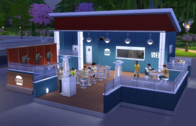 Mes premières découvertes Les Sims 4 Au Restaurant ! (Partie 2)