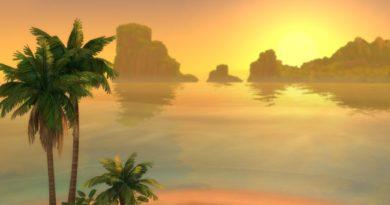 Les Sims 4 Îles paradisiaques : L'Aspiration Vie à la plage