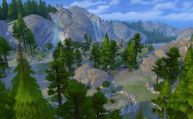 Les Sims 4 Destination Nature : le lieu secret de Granite Falls