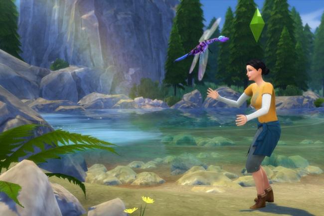 Les Sims 4 Destination Nature : Partir à la recherche des insectes de Granite Falls !