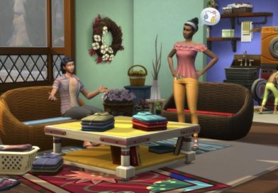 Les nouveautés du Kit d'Objets Les Sims 4 Jour de lessive : Le CAS et les Objets !