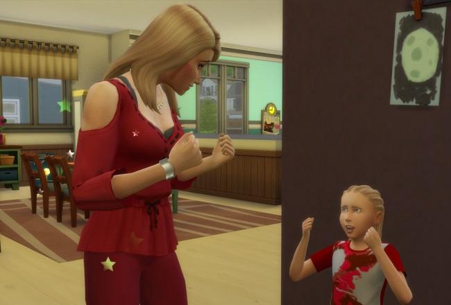 Les Sims 4 Être parents : l'Aspiration Superparent