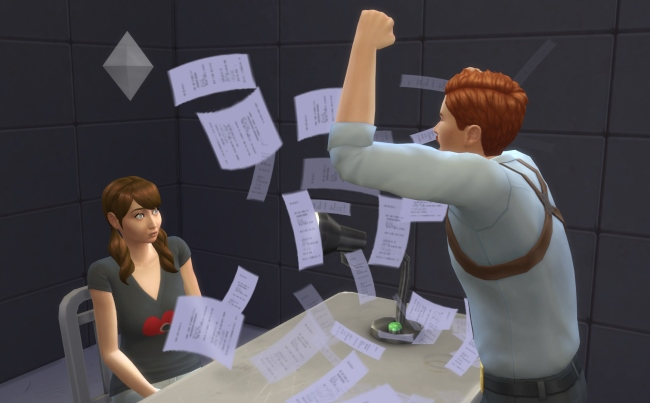 Les Sims 4 Au travail : la carrière Détective !
