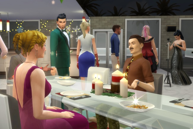 Les Sims 4 Heure de gloire : le Gala de bienfaisance !