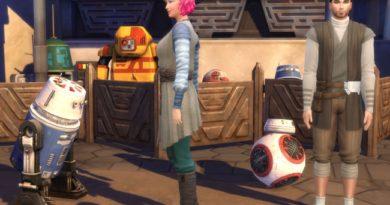 Mes premières découvertes Les Sims 4 Star Wars Voyage sur Batuu ! (Partie 2)