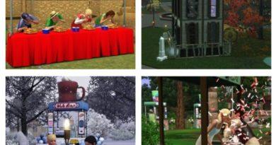 Les Sims 3 Saisons : Les lieux de festivals !