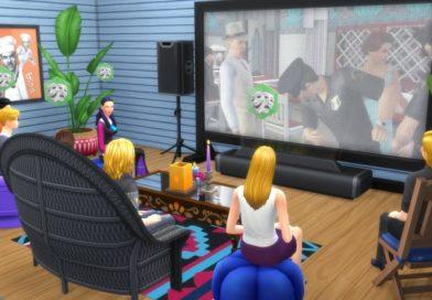 Les Sims 4 Comme au cinéma et les groupes !