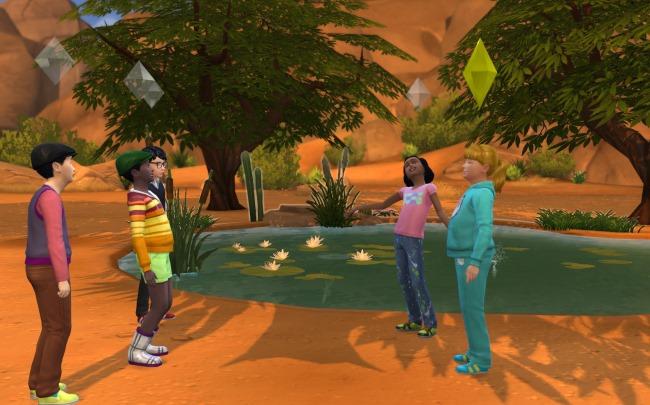 Les Sims 4 : Les Facultés sociales et la confiance des enfants !