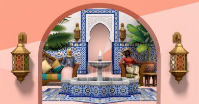 Les Sims 4 : Kit Riad de rêve !