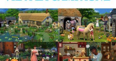 Mes premières découvertes Les Sims 4 Vie à la campagne ! (Partie1)