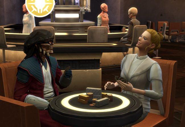 Les Sims 4 Star Wars Voyage sur Batuu : l'aspiration Corsaire galactique