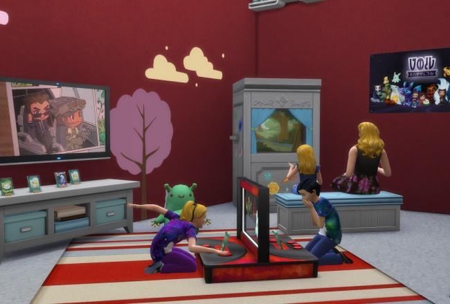 Les Sims 4 Chambre d'enfants : la Station de bataille, les Créatures du Vide, le Théâtre de marionnettes et plus !