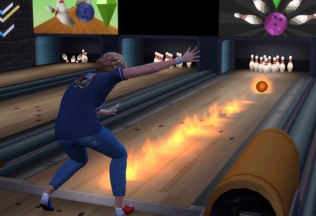 Les Sims 4 Kit Soirée Bowling : La  Compétence Bowling et plus !