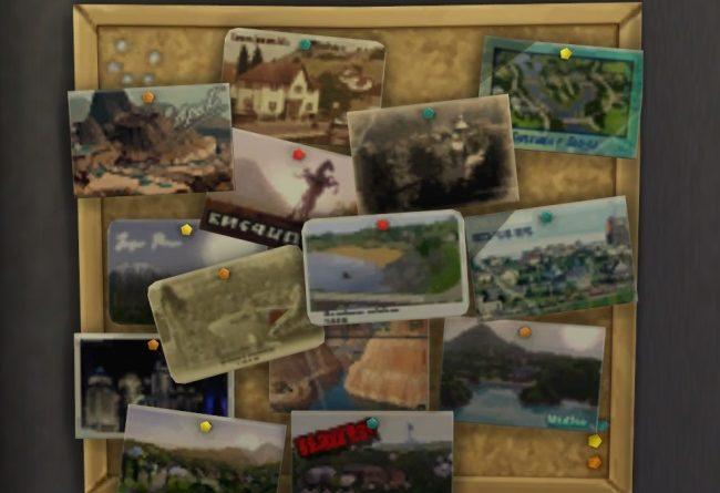 Les Sims 4 : La Collection de cartes postales