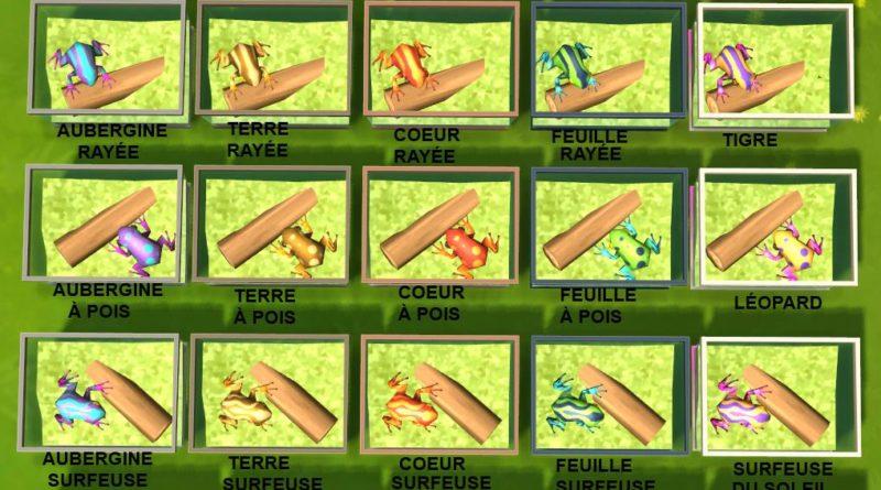 Les Sims 4 : La Collection de grenouilles