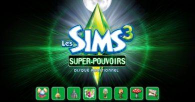 Mes premières découvertes Les Sims 3 Super-Pouvoirs !