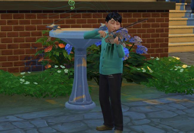 Les Sims 4 : La compétence Créativité et l'Inspiration des enfants !