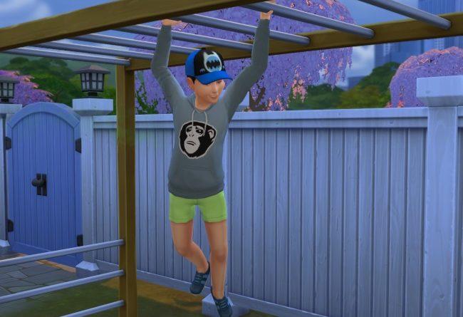 Les Sims 4 : Les Facultés motrices et l'énergie des enfants !